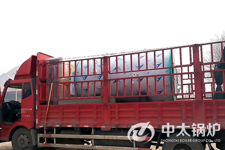 河北制药厂4吨燃油燃气蒸汽锅炉